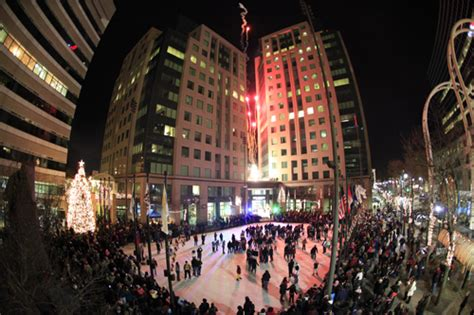 christmas in buffalo ny pictures niagara bank presents annual downtown tree lighting celebration
