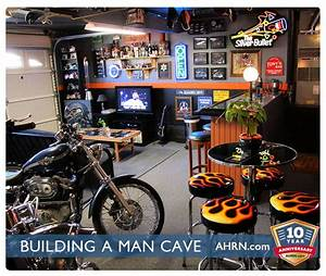 A Man Cave for the Military Man AHRN com