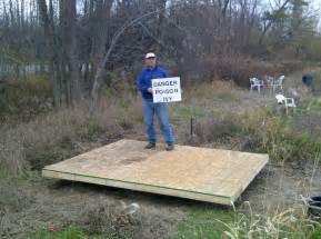 Garden Shed Foundation Plans