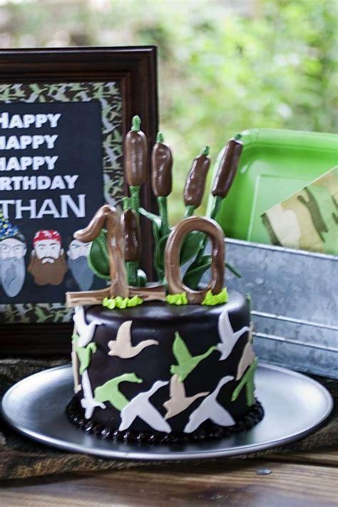 duck dynasty birthday party ideas photo    catch