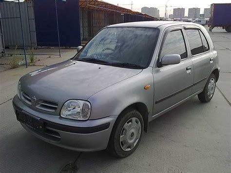 Nissan March Photo by 2001 Nissan March Photos 1 3 Gasoline Ff Automatic For