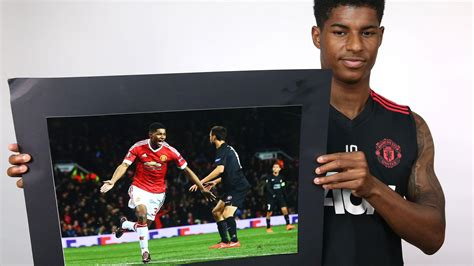 Marcus rashford thinks his hunger for success has achieved a level he never thought possible. Marcus Rashford Inside United quote about his debut ...