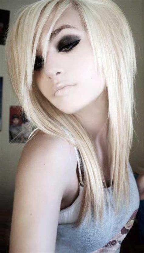 stylish hairstyles  long bangs hairstyles