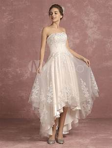 summer wedding dresses 2018 lace beaded bridal gown With robe fluide courte