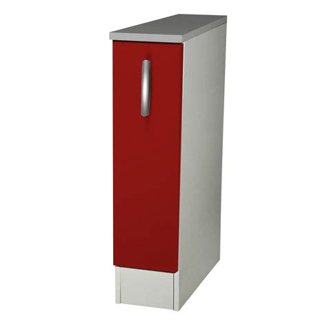 element armoire cuisine meuble de cuisine bas 1 porte h86x l15x p60cm