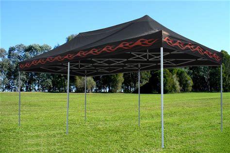 black flame pop  tent canopy gazebo