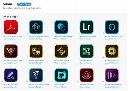 Adobe Photoshop Apps Suite Ipad Release Ios