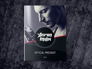 Dj and musician press kit template on behance for Dj press kit template free
