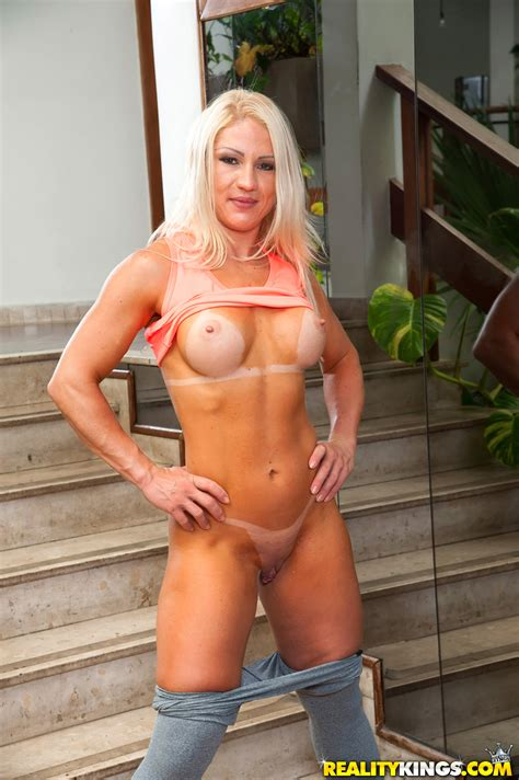 blonde with firm tits is very horny photos lorena fire milf fox