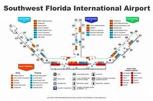 Southwest Florida International Airport map