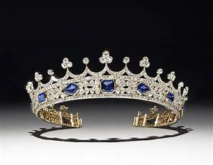 The tiara was designed by Prince Albert for Queen Victoria ...