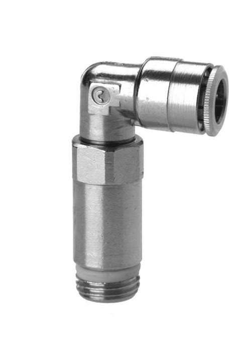 6525 Extended Swivel Elbow Push In Fitting - Camozzi