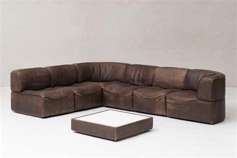 6 Elements Modular 'ds15' Sofa By De Sede, Switzerland