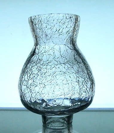 3 1 4 fitter glass shade crackle glass hurricane shade 1 3 8 fitter x 4 5 8 x 2 25 oos 8978