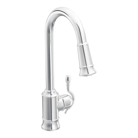 kitchen faucet moen woodmere single handle single kitchen faucet
