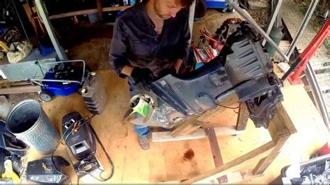 Force Buitenboordmotor 70 Pk by Removing The Power Trim Tilt Unit From An Outboard Motor