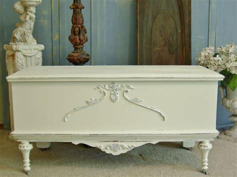 shabby chic blanket chest shabby chic cedar chest white antique blanket by redbarnestates 645 00