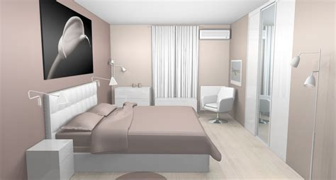 chambre mur taupe déco chambre taupe et blanc idées pour la maison