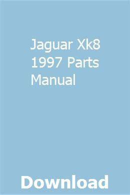 jaguar xk  parts manual repair manuals volvo