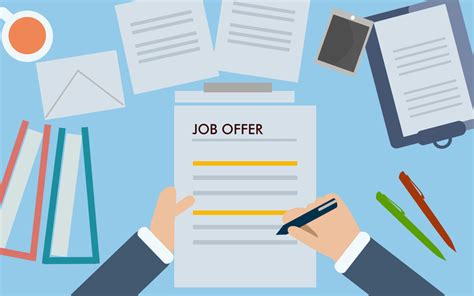 job offer steps to take before accepting a offer journal