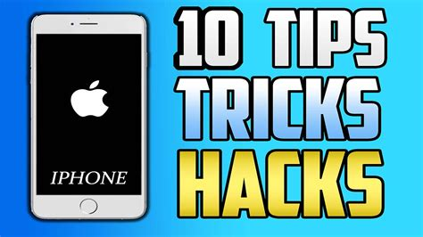 Top 10 Iphone Tips & Tricks/hacks! No Jailbreak Required Newest Iphone Us Cellular 7s Bekas 6 Plus Case Holster Not Turning On Cases Target Pouch Gold Jack Wills