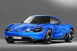 Alpine Renault Prix : nouvelle alpine renault et si la future berlinette ressemblait a photo 1 l 39 argus ~ Gottalentnigeria.com Avis de Voitures
