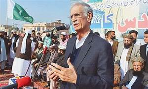 Pervez Khattak's presence at Difa-i-Pakistan Council rally ...