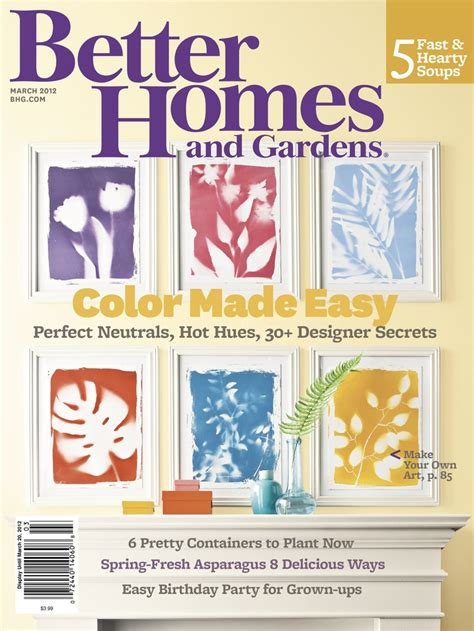 Make It Yourself Magazine Better Homes And Gardens 9 best images about better homes and gardens magazine