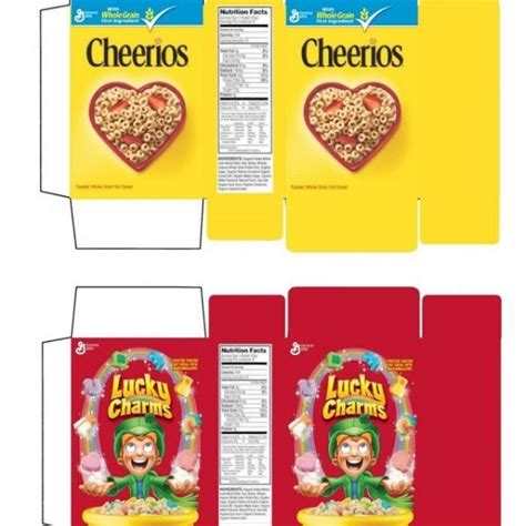the letter box american cereal boxes american ideas