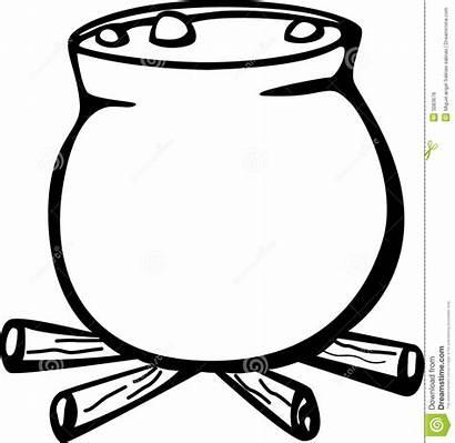 Cauldron Pot Witch Clipart Stew Soup Wombat