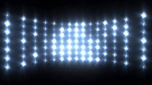 Flashing Blue Wall of Lights Concert Stage Sports Stadium ...