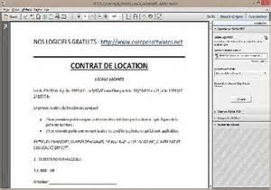 Modele Contrat Location Meublé Gratuit by T 233 L 233 Charger Mod 232 Le De Contrat De Location Pour Windows