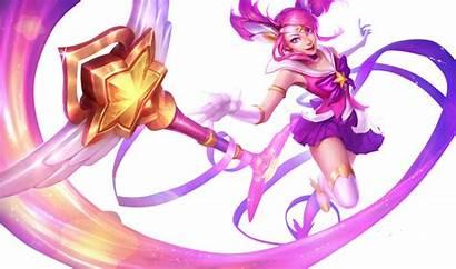 Lux Skin League Legends Starguardian Splashart Guardian