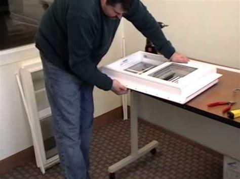 remove  nailing fin   vinyl window youtube