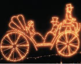animated carriage outdoor decorations traditional outdoor decorations