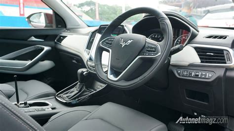 Wuling Almaz Photo by Interior Wuling Almaz 2019 Autonetmagz Review Mobil