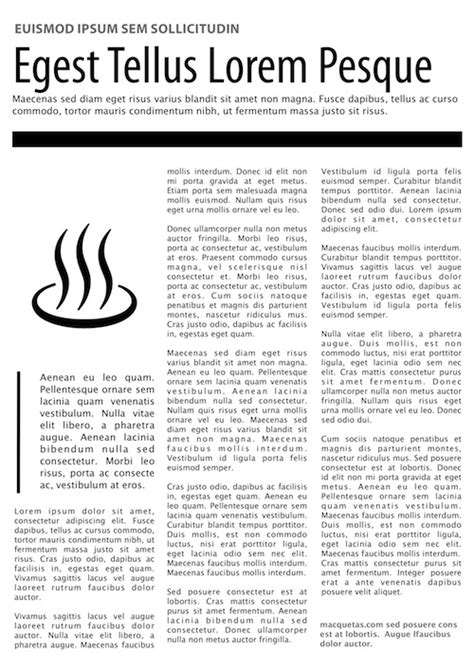 Magazine Article Template Magazine Article Template Images