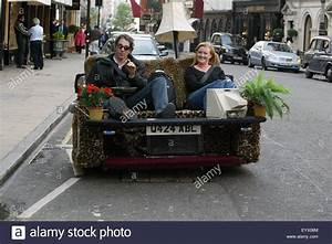Edd China back in 2003 in Bond street London on his sofa ...