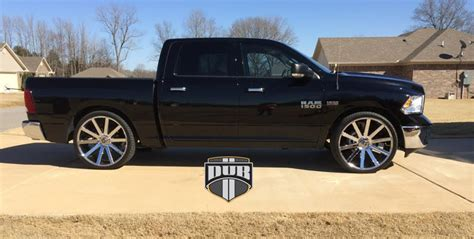 Car   Dodge Ram 1500 on DUB 1 Piece Shot Calla   S120