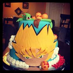 dragon ball z cake cool cakes pinterest