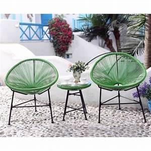 Table Basse Balcon : salon de jardin vert 2 fauteuils oeuf table basse achat vente salon de jardin palmero salon ~ Teatrodelosmanantiales.com Idées de Décoration