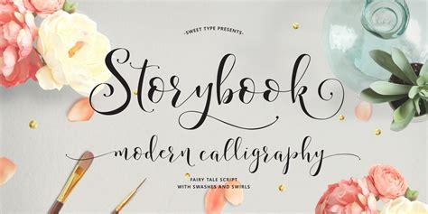 fontspring storybook fonts  emily spadoni