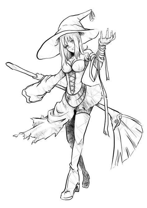 witch designs witch character design by deavom on deviantart