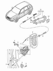 Audi Q5 Door Latch  Safe  Deadlock  Handles