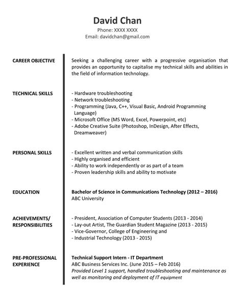 cover letter sample fresh graduate hk  cover letter