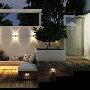 terrasse zen idees et photos pour une terrasse sympa With eclairage pour terrasse en bois exterieur 1 eclairage de balcons terrasses jardinelec