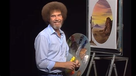 Can You Handle The Truth? Bob Ross' Famous Curly Hair Was