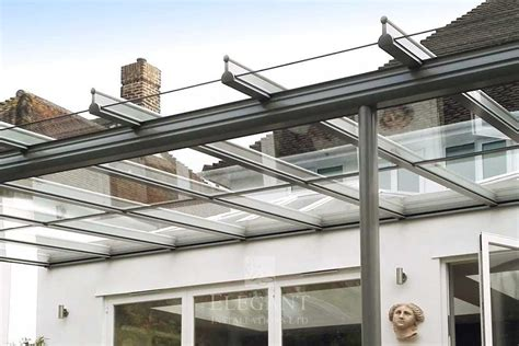 glass verandas rooms with front overhang roof elegant