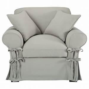 Fauteuil Gris Clair : fauteuil en coton gris clair butterfly maisons du monde ~ Teatrodelosmanantiales.com Idées de Décoration