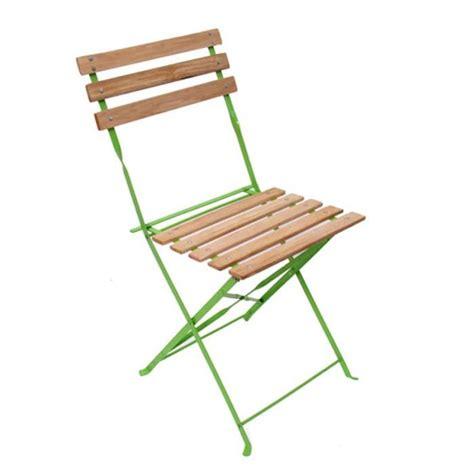 chaise de jardin metal pliante chaise de jardin brasserie terrasse pliante bois métal